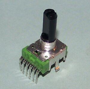 NEW-100k-ohm-DUAL-Audio-Taper-Pot-PC-Board-Pins-6-Pin-E