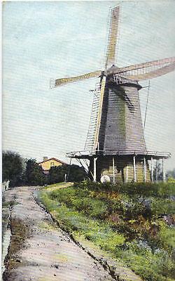 Mühle - Windmühle, Ansichtskarte von 1906