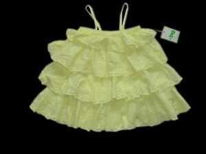 big by Fiona Scanlan ~ Lemon Drop Tiered Dress NWT~ sz2