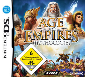 Age of Empires: Mythologies (Nintendo DS, 2008) - <span itemprop=availableAtOrFrom>Uslar, Deutschland</span> - Age of Empires: Mythologies (Nintendo DS, 2008) - Uslar, Deutschland
