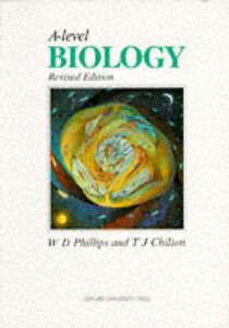 A-level-Biology-Phillips-W-D-Chilton-T-J-Used-Good-Book