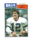 Rookie Jim Kelly Original Football Trading Cards