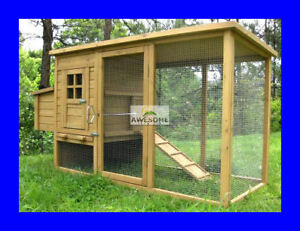 LARGE-DELUXE-CHICKEN-COOP-HEN-POULTRY-ARK-HOUSE-HUTCH