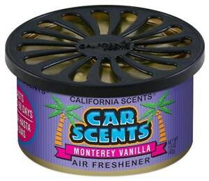 California Scents Monterey Vanilla Car Air Freshener