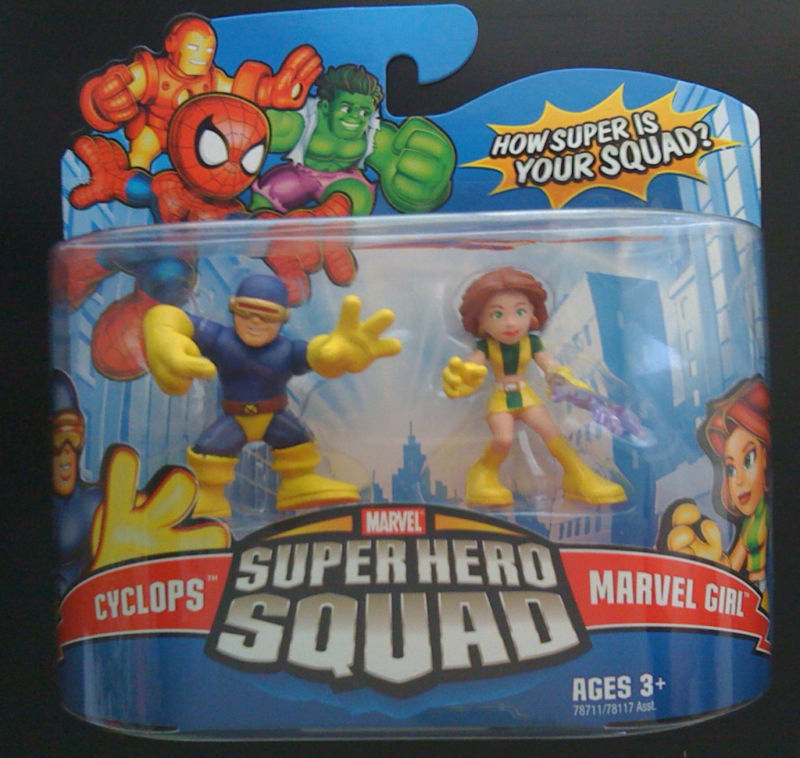 MARVEL SUPERHERO SQUAD (CYCLOPS AND MARVEL GIRL)