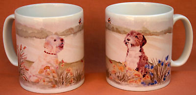 LAGOTTO ROMAGNOLO dog mug Sandra Coen Off to the Dog Show sublimation printed