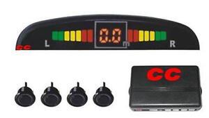 Retromarcia-Parcheggio-Sensore-4-Sistema-KIT-NUOVO-colore-RACCORDO-12V-Pick-up