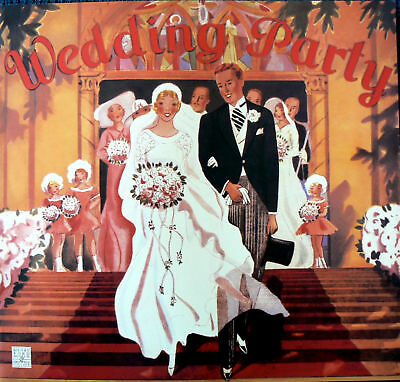 Wedding Party  Paper Doll Book Shackman