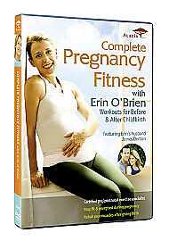 COMPLETE PREGNANCY FITNESS-WORKOUT/FITNESS/EXERCISE-BRAND NEW DVD