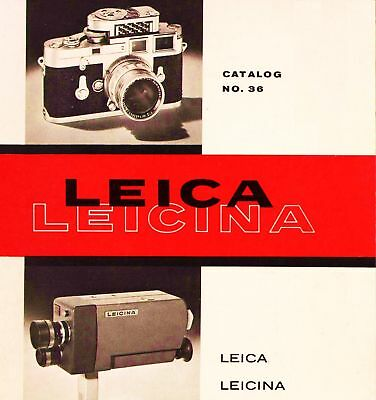 Instructions and guides 1961 LEICA CAMERA