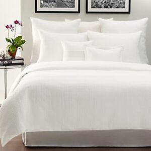 HUDSON-PARK-Vintage-Tiles-Matelasse-Duvet-Cover-Shams-Set-FULL-QUEEN-White