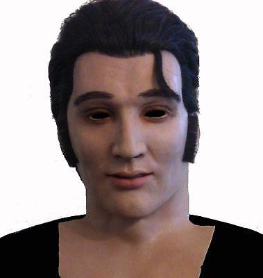 Elvis Presley Life-like Skin & High-end Mask