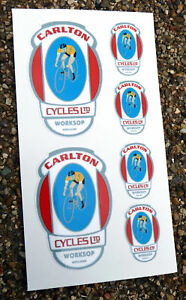 CARLTON-style-Vintage-Cycle-Bike-Frame-Decals-Stickers