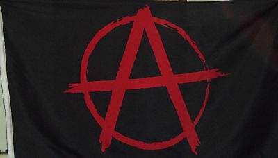 Anarchy Flag - Black And Red - 3x5 Polyester Anarchist