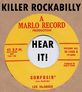 Rockabilly-Repro-LEE-McBRIDE-Confusin-039-MARLO