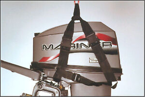 lift sling outboard motor engine lifting strap strop ebay On outboard motor lifting strap