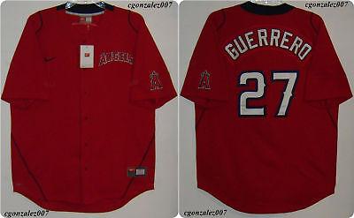 Nike Anaheim Angels Guerrero Baseball Jersey Men's