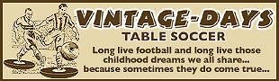 Vintage-Days Table Soccer