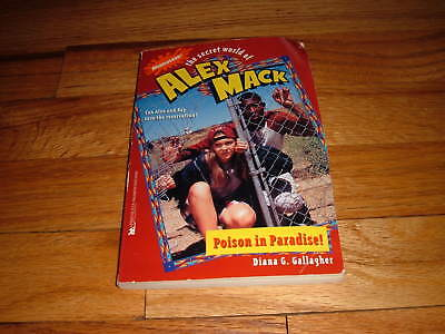 Secret World Of Alex Mack Poison In Paradise Paperback