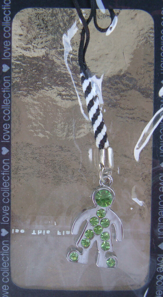 Boy - Mobile Cell Phone Charm - 3 Colors