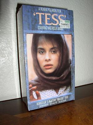 Tess Starring Nastassja Kinski (vhs,1996,new)