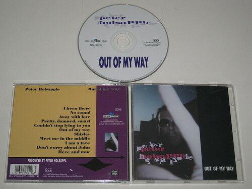PETER HOLSAPPLE/OUT OF MY WAY (BLUE ROSE BLU CD0026) CD ALBUM