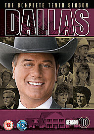 DALLAS Complete Series 10 DVD Box Set New Sealed Season UK Release R2 10th Tenth