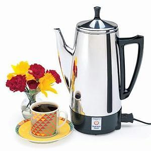 NEW Presto 12 Cup 02811 Stainless Steel Coffee Maker -FAST Shipping!