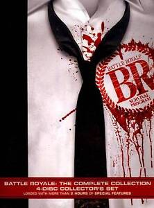 Battle Royale The Complete Collection DVD - $12.30