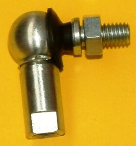 M5x0.8 RH LINKAGE BALL JOINT ZINC PLATED WITH CLIP + LOCKNUT