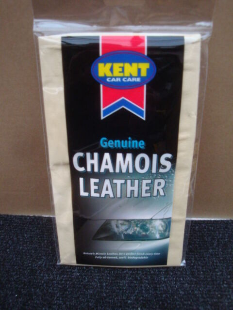 KENT SMALL GENUINE CHAMOIS LEATHER B150P APPROX 1.5SQFT