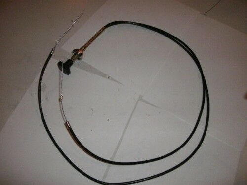 Triumph Tr6 Choke Cable With Solid Wire Vs Braided,made In The United Kingdom