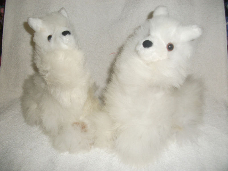 Brand New From Peru Made By Hand Soft Plush Cushing Alpaca Llama 10 Inches Tall