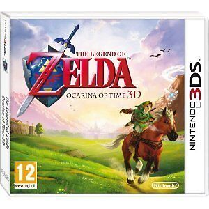 The Legend of Zelda: Ocarina of Time 3D 3DS Brand New