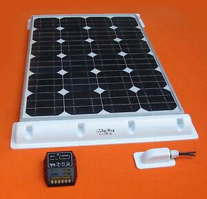 Solaranlage 100 Wp Wohnmobil- Caravan- Camping-Hochleistungsmodul Komplettanlage