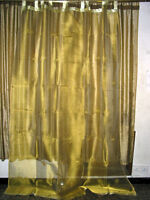 Organza Sheer Curtain Panel