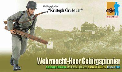 Dragon Models 1/6 Scale 12 Wwii German Heer Soldier Kristoph Grubauer 70809