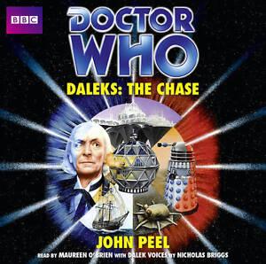 Doctor-Who-Daleks-The-Chase-Classic-Novels-John-Peel-Audio-CD-Book-NEW-9