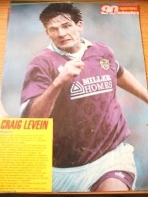 1991/1992 Heart Of Midlothian - Levein, Craig [Home Kit