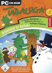 Tabaluga-Gruenland-in-Gefahr-PC-2008-DVD-Box-ab-5-Jahren