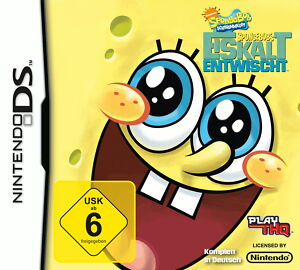 SpongeBob's Eiskalt entwischt (Nintendo DS, 2009) - Deutschland - SpongeBob's Eiskalt entwischt (Nintendo DS, 2009) - Deutschland