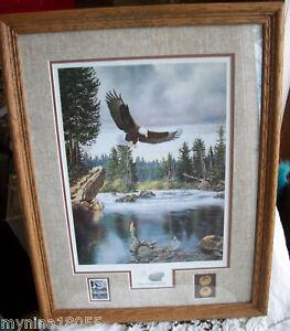 Signed-LE-Derk-Hansen-Earth-Day-Freedom-Eagle-Print