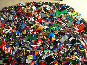 LEGO-Bulk-lot-Bonanza-500-pcs-blocks-etc-toyking1000-BONUS-minifig-item-see-ad
