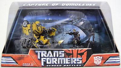 Capture Of Bumblebee Transformers 1 Screen Battles 2007