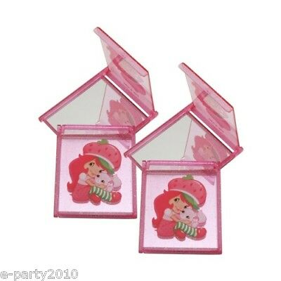 Strawberry Shortcake Compact Mirrors (4) Birthday Party Supplies Favors Prize