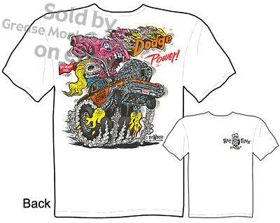 Dodge Power Rat Fink T Shirt Big Daddy Shirts Tee Sz M L Xl 2xl 3xl Quality,