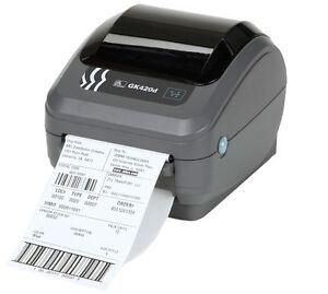 Zebra GK420D Label Thermal Printer
