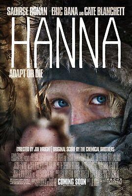 Hanna movie poster - Saoirse Ronan poster - 11 x 17 inches
