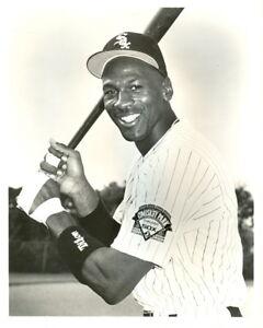 8-x-10-Glossy-Photo-Michael-Jordan-Chicago-White-Sox