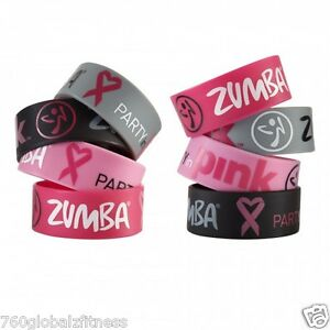 Official-Zumba-Party-in-Pink-Bracelet-SHIPS-VERY-FAST-Fight-breast-cancer